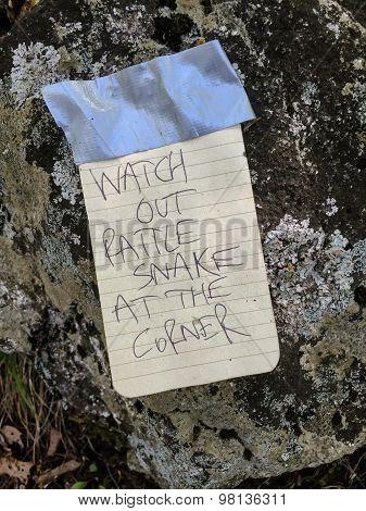 Rattlesnake Note