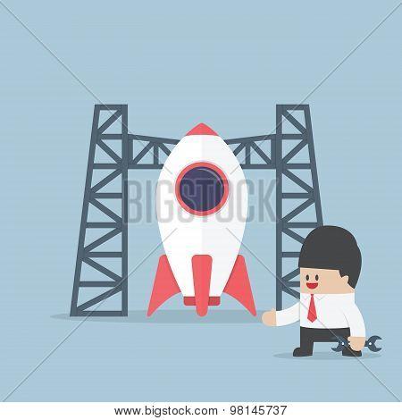 Rocket Startup, Businessman Build Space Shuttle