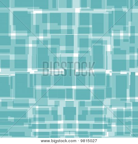 Seamless background from blue rectangles