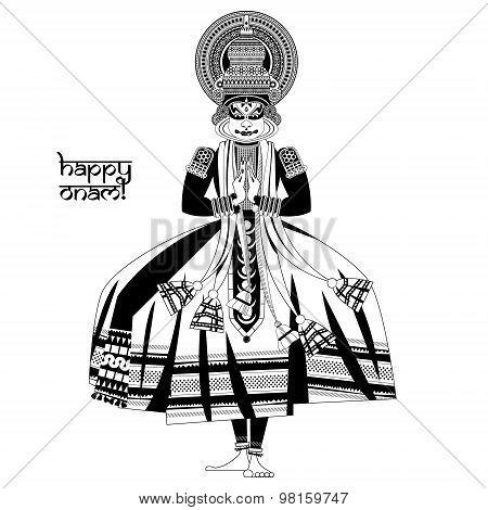 Kathakali Dancer Images Illustrations Vectors Free Bigstock