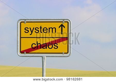 Sign Chaos System