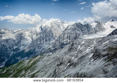 The Alps - Mountaintops By Summer