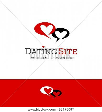 logo design for dating related site or business