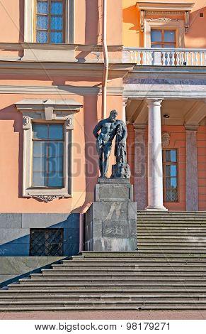 Saint-Petersburg. Russia. The Mikhailovsky Castle