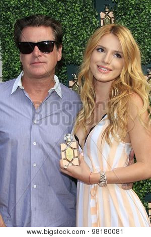 LOS ANGELES - AUG 6:  Bella Thorne at the Wildfox Fragrance Launch hosted by Bella Thorne at the Wildfox Flagship Store on August 6, 2015 in West Hollywood, CA