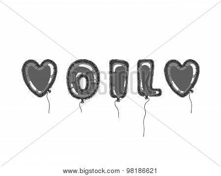 Balloons oil