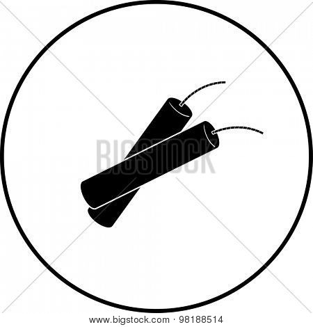 dynamite sticks symbol