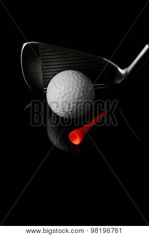Golf close up