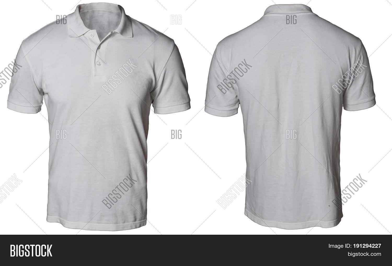 Blank Polo Shirt Mock Image Photo Free Trial Bigstock