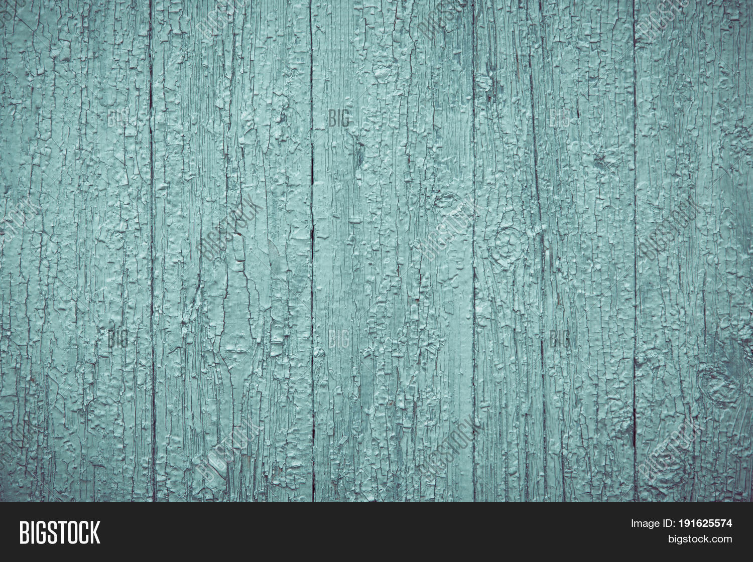 Rustic Old Wood Board Wall Shabby Green Color Background Wooden Vintage Style Texture
