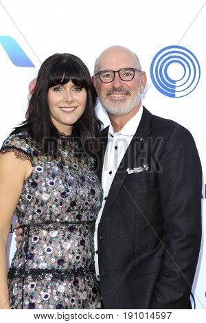 LOS ANGELES - JUN 10: Jennifer Courpron, Henri Courpron at the 2017 Stand For Kids Annual Gala Benefiting Orthopedic Institute For Children at The MacArthur on June 10, 2017 in Los Angeles, California