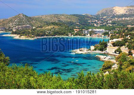 Adriatic coast in Croatia, Europe