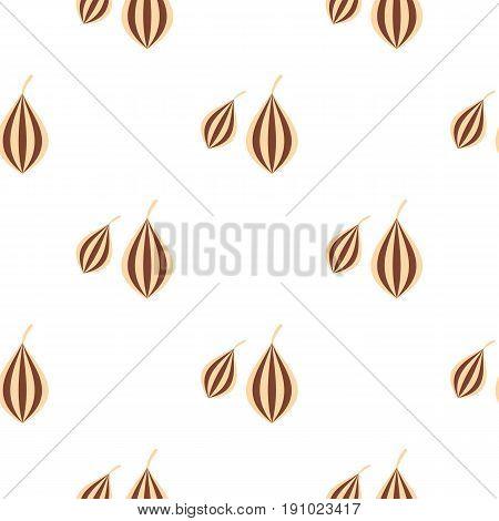 Ajwain pattern seamless flat style for web vector illustration