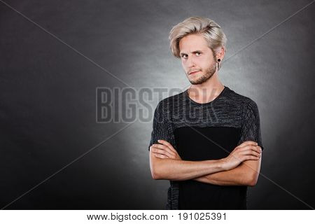 Angry Serious Young Man, Negative Emotion