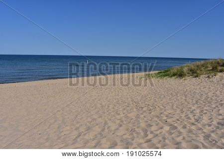 Scenic Views of Lake Michigan - This photo was taken in Holland Michigan