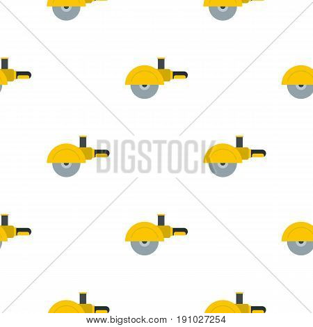 High speed cut off machine pattern seamless flat style for web vector illustration