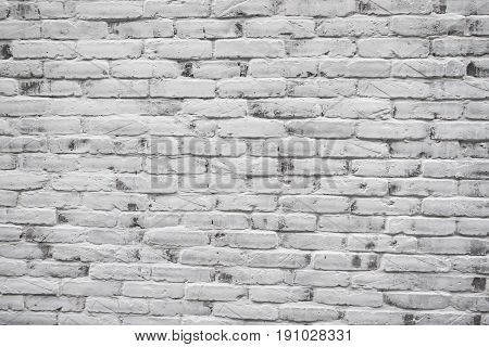 Brick Wall Texture, Detailed Structure Of Brick In Natural Pattern For Background