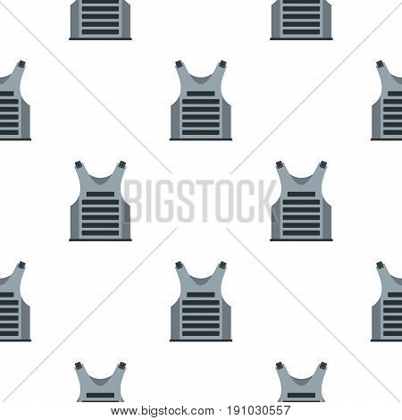 Paintball vest pattern seamless flat style for web vector illustration