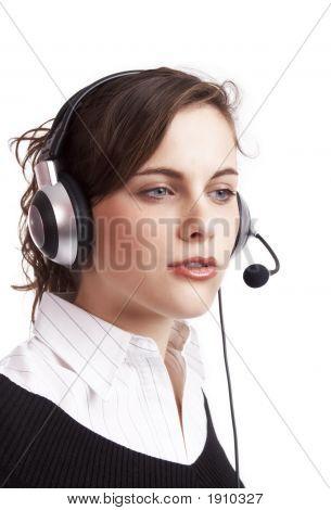 Pretty Customer Service Agent