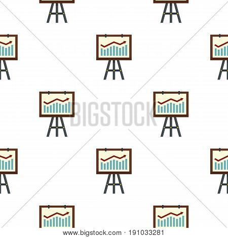 Graphic pattern seamless flat style for web vector illustration