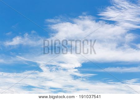 image of clear sky on day time for background usage.