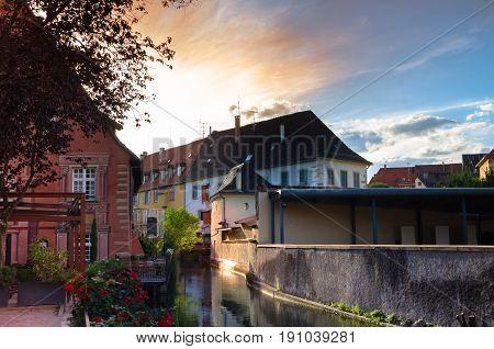 Sunrise In Colmar, Alsace, France