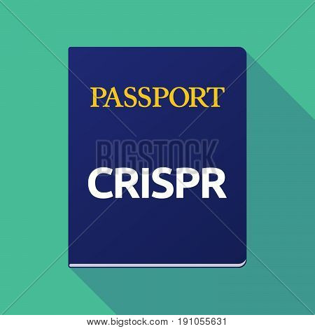Long Shadow Passport With  The Clustered Regularly Interspaced Short Palindromic Repeats Acromym Cri