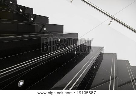 Stairs Marble Black