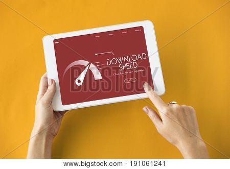 Upload Speedometer Download Fast Data