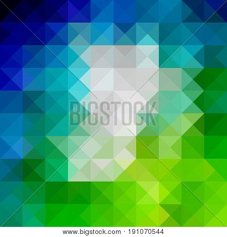 abstract background consisting of triangles, spectrum abstract background