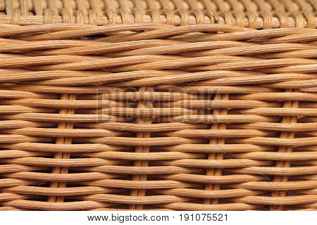 rattan texture for background wicker craft in Thailand.