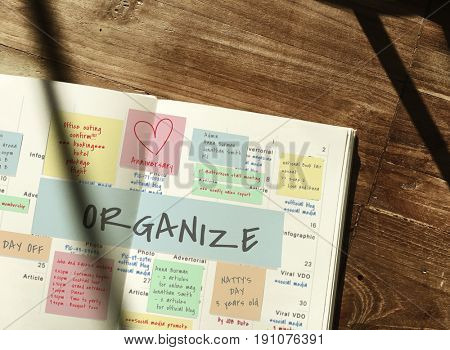 Organize Memo Note Post Appointment Meeting Reminder