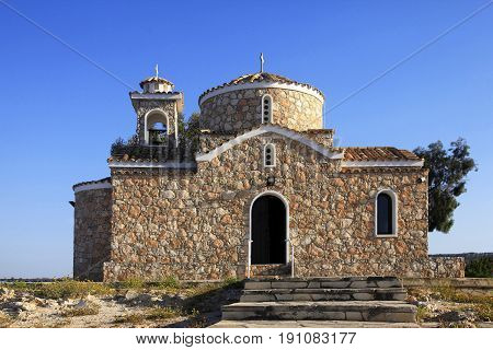 Church of Ayios Ilias. Protaras Famagusta District Cyprus