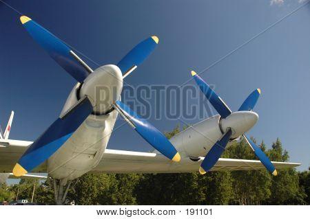 Blue Propellers