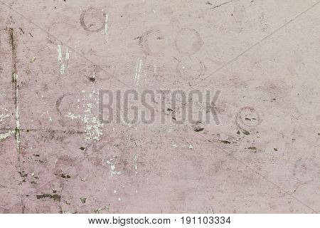 The grunge wall background with pink tone