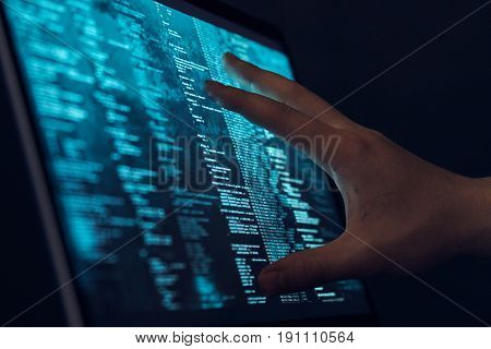 Operating system, processor, hard drive, programming, programming language.