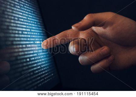 Processor, RAM, hard disk, operating system, number system, networks.