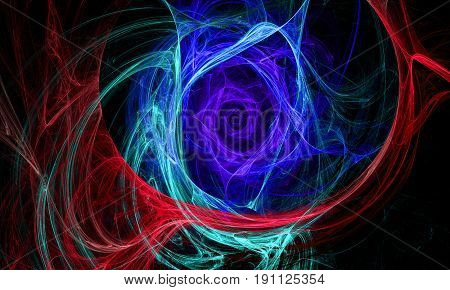 Abstract fractal. Fractal art background for creative design.