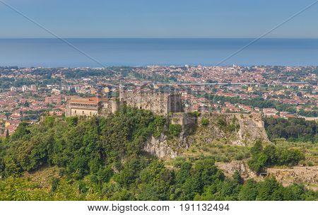 Castello Malaspina di Massa Tuscany Italy Picture