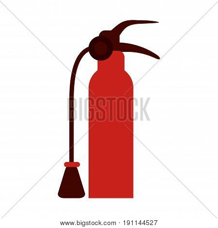 Fire extinguisher flames icon vector illustration design graphic