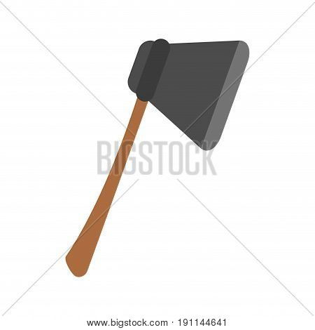 Ax felling trees icon vector illustration design graphic