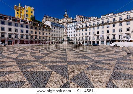 City Hall on Municipal Square. Lisbon. Portugal