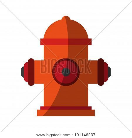 Fire hydrant use icon vector illustration desing graphic shadow
