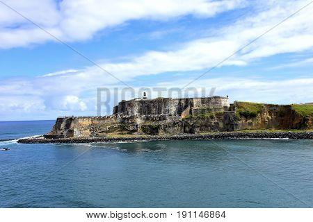 Castillo de San Felipe del Morro San Juan Puerto Rico.