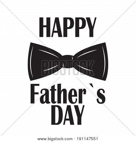 Fathers Day Background. Best Dad Vector Illustration EPS10