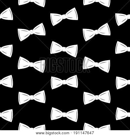 Bow Tie Seamless Pattern, Father s Day Background Vector Illustration EPS10