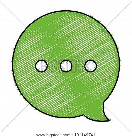 speech buble message icon vector illustration design