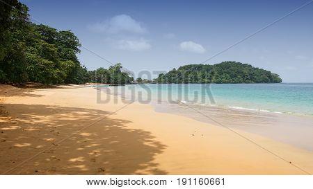 Praia Coco on Principe Island, Sao Tome and Principe, Africa