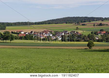 Goegglbach Schwandorf in bavaria picture taken a little Mountain Gögglbach