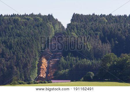 gas pipeline construction next to Schwandorf in Bavaria